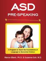 pre speaking program